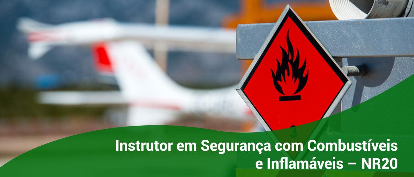 Banner – Instrutor em Segurança com Combustíveis e Inflamáveis – NR20