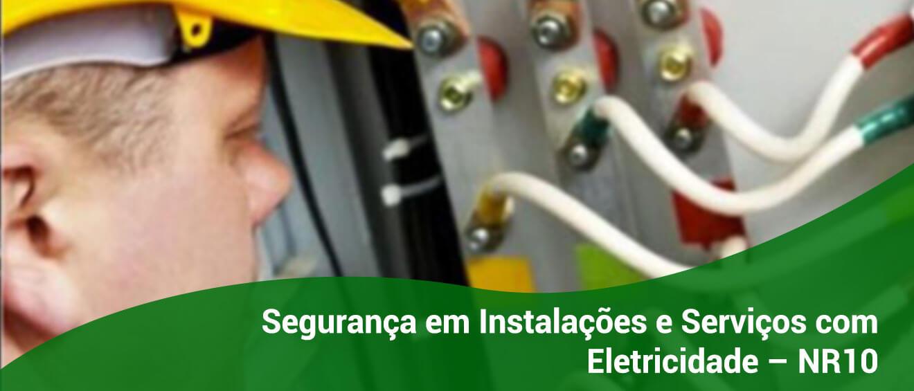 Banner – Segurança em Instalações e Serviços com Eletricidade – NR10